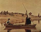 William Sidney Mount (Fishermen in Setauket) Art Poster Print Masterprint