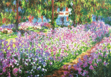 Claude Monet (Garden at Giverny) Art Print Poster Masterprint