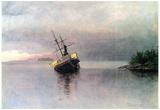 Albert Bierstadt Shipwreck in Loring bay Alaska Art Print Poster Prints