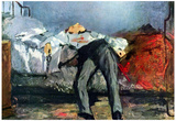Edouard Manet (Suicide) Art Poster Print Posters