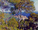 Claude Monet (Bordighera) Art Poster Print Masterprint