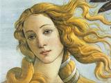 Botticelli (The Birth of Venus, Detail) Art Poster Print Masterprint