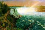 Albert Bierstadt Niagra Falls Art Print Poster Masterprint