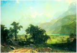 Albert Bierstadt Lucerne Switzerland Art Print Poster Posters