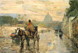 Childe Hassam La Val de Grace Spring Morning Art Print Poster Masterprint