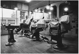 Barber Shop Archival Photo Poster Print Posters