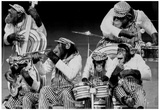 Chimpanzee Band 1973 Archival Photo Poster Posters