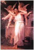 William Adolphe Bouguereau (L'Innocence) Art Poster Print Photo