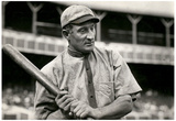 Honus Wagner at Bat Archival Sports Photo Poster Photo