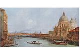 Canaletto (II) (Santa Maria della Salute) Art Poster Print Print