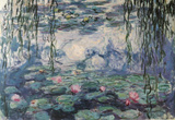 Claude Monet Nympheas Water Lilies Art Print Poster Masterprint
