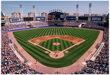 Comiskey Park Chicago Color Archival Photo Sports Poster Prints