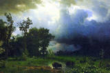 Albert Bierstadt Before the Storm Art Print Poster Masterprint