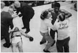 Floyd Patterson Knockout Archival Photo Poster Print Prints