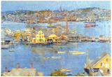 Childe Hassam The Port of Gloucester Art Print Poster Posters