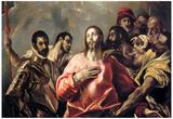 El Greco Disrobing of Christ 3 Art Print Poster Print