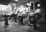 Barber Shop Archival Photo Poster Print Masterprint