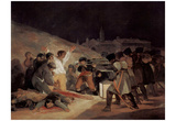 Francisco de Goya y Lucientes (The shooting of the insurgents on 3 May 1808 in Madrid) Art Post Poster
