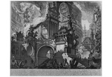 Giovanni Battista Piranesi (Various works of architecture, perspective, and the Poster Print