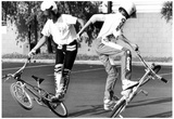 BMX Kids 1987 Archival Photo Poster Photo