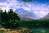 Albert Bierstadt Mt.Washington Landscape Art Print Poster Masterprint