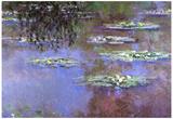 Claude Monet Water-Lilies 4 Art Print Poster Posters