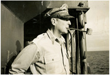 General Douglas MacArthur on Ship Archival Photo Poster Print Prints