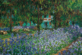 Claude Monet (Artist's Gardens at Giverny) Art Print Poster Masterprint