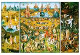 Hieronymus Bosch Garden of Earthly Delights Art Poster Print Kunstdrucke