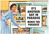 Another Day in Paradise Minus the Paradise Funny Art Poster Print Prints