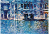 Claude Monet (Palazzo da Mula, Venice) Art Poster Print Poster