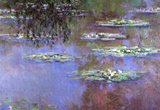Claude Monet Water-Lilies 4 Art Print Poster Masterprint