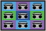 Boombox Stereos 3 Pop Art Print Poster Prints