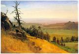 Albert Bierstadt Wasatch Mountains Nebraska Art Print Poster Posters