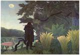 Henri Rousseau (Schlangenbeschworerin) Art Poster Print Posters