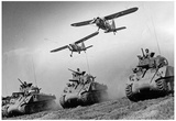 Army Tanks M4 Archival Photo Poster Print - Resim
