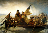 Emanuel Leutze Washington Crossing the Delaware River Art Print Poster Masterprint