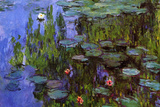 Claude Monet Water-Lilies Art Print Poster Masterprint