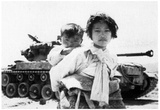 Korean Citizens (In Front of Tank, 1951) Art Poster Print Prints