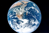 Earth from Space Archival Photo Poster Print Masterprint
