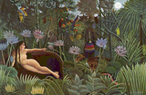 Henri Rousseau (The dream) Art Poster Print Photo