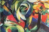 Franz Marc The Mandrill Art Print Poster Masterprint