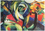 Franz Marc The Mandrill Art Print Poster Posters