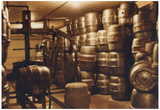 Brewery Kegs Archival Photo Poster Print Poster