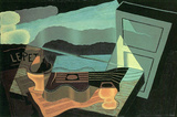Juan Gris - Overlooking The Bay Cubism Art Print Poster Masterprint