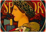 Emblem of Italy Vintage Poster Print Posters