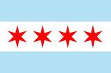 Chicago City Flag Poster Print Masterprint