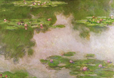Claude Monet Water-Lilies 2 Art Print Poster Masterprint