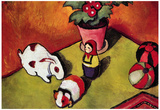 August Macke Walter Chen Toys Art Print Poster Posters