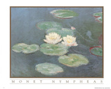 Claude Monet Nympheas Art Print POSTER Water Lilypads Masterprint